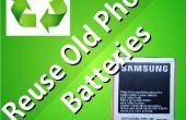 Hergebruik van oude telefoon batterijen als een Powerbank (aarde dag deel 1)