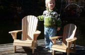Kind grootte Adirondack stoelen