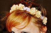 Zijde bloemen hoofdband