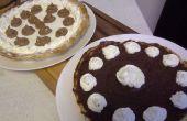 Chocolade taart huisgemaakt