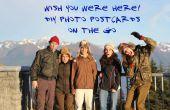 DIY foto ansichtkaarten on the Go