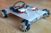 Mecanum wiel robot - gecontroleerd bluetooth