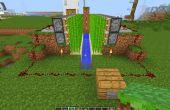 Minecraft automatische suikerriet boerderij.