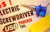 How To Make elektrische schroevendraaier Usb machtshulpmiddel uit Micro Servo onder 6$!