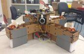 Autonome, karton, Rasberry Pi gecontroleerd QuadCopter