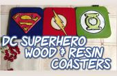 DC superheld hout & hars Coasters