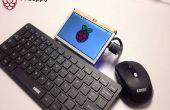 Raspberry Pi van draagbare Laptop