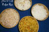 Hoe om te koken perfecte rijst - (4 technieken)