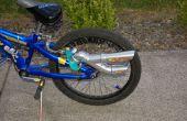Het maken van een demper/uitlaat voor uw fiets.