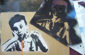 Maken van complexe Spraypaint Stencils met de Hand