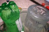 Verzamelen van waterstof en zuurstof