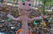Amigurumi haak Dancing Baby Groot van Guardians of the Galaxy