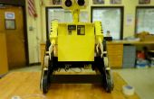 Wall-E gemaakt van kras