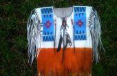 Native American 'Buck huid Shirt'