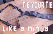 Binden van uw stropdas zoals een Super Ninja In seconden