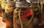 Sriracha gekruide Dille Pickles