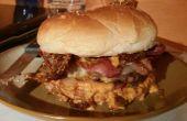Ultieme Bacon Burger (organische stijl)