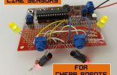 Sensoren voor goedkope Robots lijn