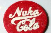 Hoe maak je een gloeiende Nuka Cola Coaster