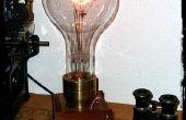 De reus Edison - een groot formaat Steampunk Lamp