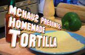 Zelfgemaakte Tortilla! (zacht, Fluffy)