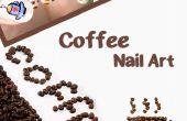 Koffie Nail Art Design