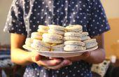 Zwarte sesam Macarons   Josh Pan