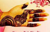 Henna Mehndi Art: Tijdelijke tattoo kunst