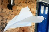 Concorde dat vliegt papier
