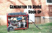 Eenvoudige Generator bij huis Hook Up