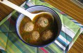 Kip kofta (balletjes) curry (jus versie)