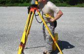 Hoe kan ik een Total-Station uit te voeren operaties landmeetkundige