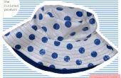 Genaaid: Polka Dot regen hoed (geïnspireerd door Cath Kidston)