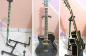 Suporte para violão - cano PVC / Guitar Stand - PVC-buizen