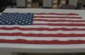 Hoe te vouwen van een vlag