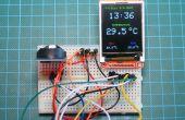 Arduino DS3231 Real timerklok met kleur TFT