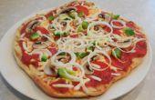 Gegrilde Pizza