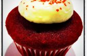 Mini Red Velvet Cupcakes met roomkaas Frosting