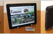 Maak een fab iPad/tablet stand met een plaat stand en Sugru!