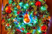 De kroon van de Christmassy Kerstmis...