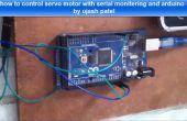 Hoe u kunt besturen servomotor met arduino en seriële toezicht raam