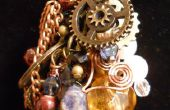 Steampunk Collage ketting