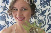 DIY eenvoudige zeemeermin Shell kroon