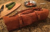 Lederen Chef's Knife Roll