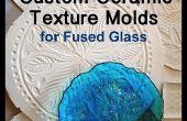 Aangepaste keramische textuur mallen voor gesmolten glas