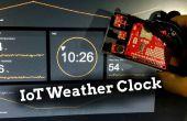 Arduino IoT weer klok