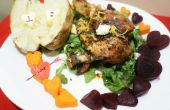 Geroosterde kip diner voor twee