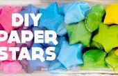 DIY Lucky Stars / / papier Star