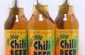 Hoe te Huis brouw A Hot Chili bier recept