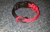 Paracord koe Hitch & gesp armband